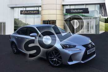 Lexus IS 300h 4dr CVT Auto in Sonic Silver at Lexus Cheltenham