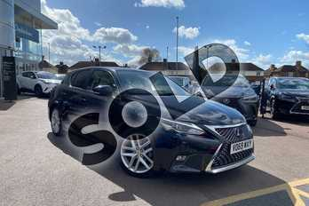 Lexus CT 200h 1.8 Takumi 5dr CVT in Graphite Black at Lexus Cheltenham