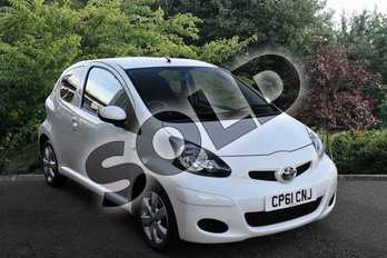 Toyota AYGO Special Edition 1.0 VVT-i Go 3dr in White at Listers Toyota Stratford-upon-Avon