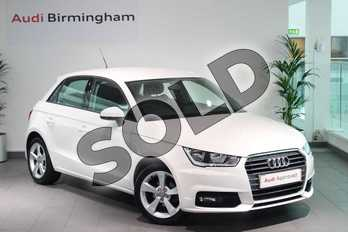 Audi A1 1.0 TFSI Sport 5dr in Shell White at Birmingham Audi