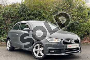 Audi A1 1.4 TFSI Sport 3dr in Nano Grey, metallic at Worcester Audi