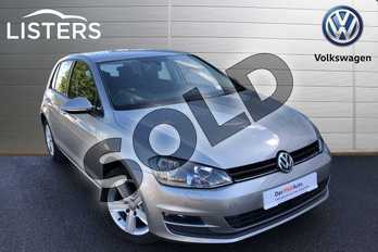 Volkswagen Golf Diesel 1.6 TDI 110 Match Edition 5dr in Tungsten Silver at Listers Volkswagen Worcester