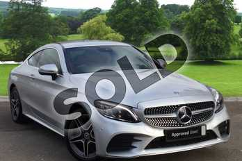 Mercedes-Benz C Class Diesel C220d AMG Line Premium 2dr 9G-Tronic in iridium silver metallic at Mercedes-Benz of Hull