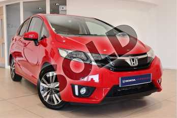 Honda Jazz 1.3 EX 5dr in Red at Listers Honda Northampton