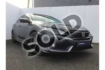 Honda Civic 1.5 VTEC Turbo Sport 5dr in Polished Metal at Listers Honda Northampton