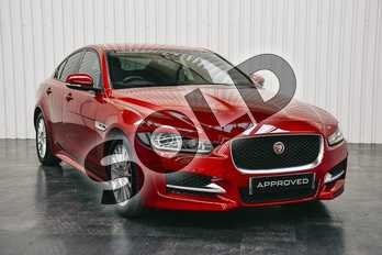 Jaguar XE Diesel 2.0d R-Sport 4dr in Firenze Red at Listers Jaguar Solihull