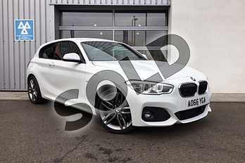 BMW 1 Series 118i M Sport 3-Door in Alpine White at Listers King's Lynn (BMW)