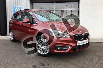 BMW 2 Series Gran Tourer 218i Luxury 5dr Step Auto in Flamenco Red at Listers King's Lynn (BMW)