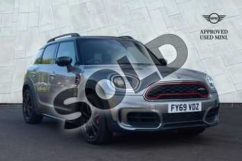 MINI Countryman 2.0 (306) John Cooper Works ALL4 5dr Auto in Melting Silver at Listers Boston (MINI)
