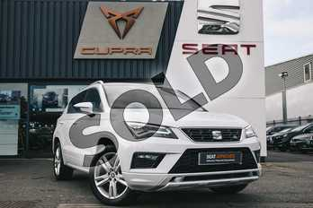 SEAT Ateca 2.0 TSI FR 5dr DSG 4Drive in White at Listers SEAT Coventry