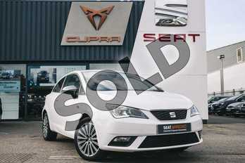 SEAT Ibiza Sport  Special Edition 1.2 TSI 90 Connect 3dr in White at Listers SEAT Coventry