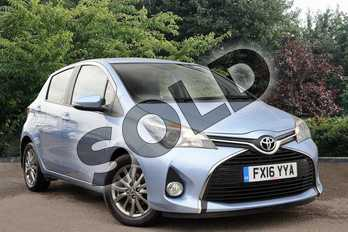 Toyota Yaris Diesel 1.4 D-4D Icon 5dr in Blue at Listers Toyota Nuneaton