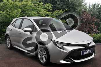 Toyota Corolla 1.2T VVT-i Icon Tech 5dr in Silver at Listers Toyota Stratford-upon-Avon