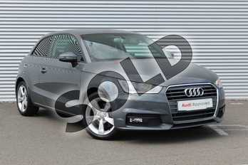 Audi A1 1.4 TFSI Sport 3dr in Nano Grey Metallic at Coventry Audi