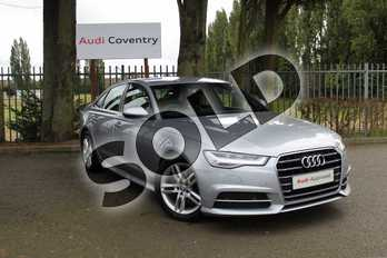 Audi A6 Diesel 2.0 TDI Ultra S Line 4dr S Tronic in Floret Silver Metallic at Coventry Audi