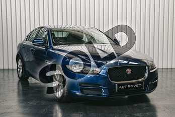 Jaguar XE Diesel 2.0d Prestige 4dr Auto in Bluefire at Listers Jaguar Solihull