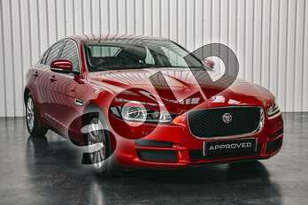 Jaguar XE Diesel 2.0d Prestige 4dr Auto in Firenze Red at Listers Jaguar Solihull