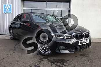 BMW 3 Series Diesel 320d SE 4dr Step Auto in Jet Black at Listers King's Lynn (BMW)
