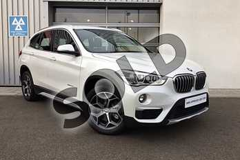 BMW X1 Diesel xDrive 25d xLine 5dr Step Auto in Mineral White at Listers King's Lynn (BMW)