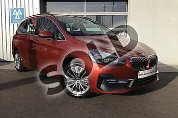 BMW 2 Series 218i Luxury 5dr Step Auto in Sunset Orange metallic paint at Listers King's Lynn (BMW)