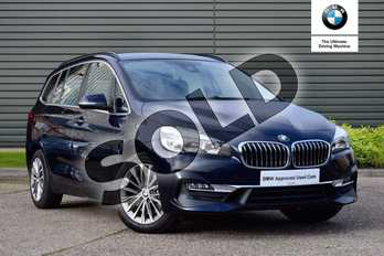 BMW 2 Series 220d xDrive Luxury 5dr Step Auto in Imperial Blue Xirallic at Listers King's Lynn (BMW)