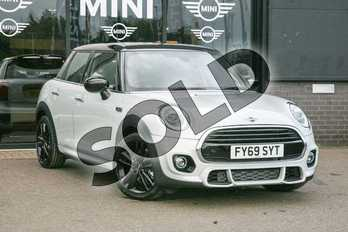 MINI Hatchback 1.5 Cooper Sport II 5dr in White Silver at Listers Boston (MINI)