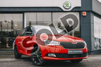 Skoda Fabia 1.0 TSI 110 SE 5dr in Corrida Red at Listers ŠKODA Coventry