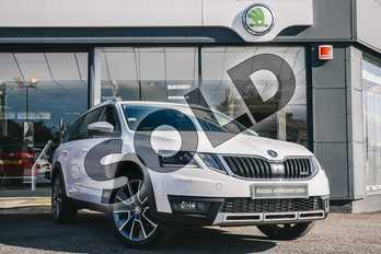 Skoda Octavia Diesel 2.0 TDI CR 184 Scout 4x4 5dr DSG (7 speed) in Candy White at Listers ŠKODA Coventry