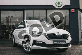 Skoda Scala 1.5 TSI SE 5dr DSG in Candy White at Listers ŠKODA Coventry