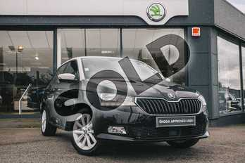 Skoda Fabia 1.0 TSI Colour Edition 5dr in Black Magic Pearl Effect at Listers ŠKODA Coventry