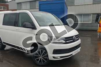 Volkswagen Transporter 2.0 TDI BMT 150 Edition Kombi Van DSG in Candy White at Listers Volkswagen Van Centre Coventry