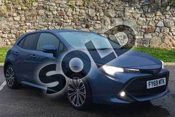 Toyota Corolla 1.2T VVT-i Design 5dr in Denim Blue at Listers Toyota Boston