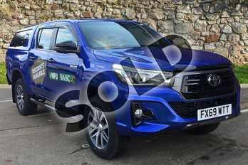 Toyota Hilux Diesel Invincible X D/Cab Pick Up 2.4 D-4D Auto in Nebula Blue at Listers Toyota Boston