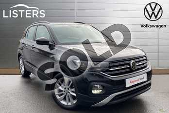 Volkswagen T-Cross 1.6 TDI SE 5dr in Deep Black at Listers Volkswagen Coventry