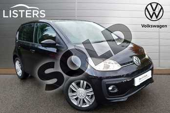 Volkswagen Up 1.0 High Up 5dr in Deep black at Listers Volkswagen Coventry