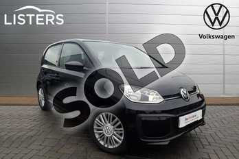 Volkswagen Up 1.0 Move Up 5dr in Deep black at Listers Volkswagen Coventry