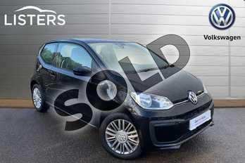 Volkswagen Up Special EDS 1.0 Move Up Tech Edition 3dr (Start Stop) in Deep black at Listers Volkswagen Leamington Spa