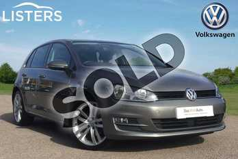 Volkswagen Golf Diesel 1.6 TDI 110 GT Edition 5dr in Limestone Grey at Listers Volkswagen Loughborough