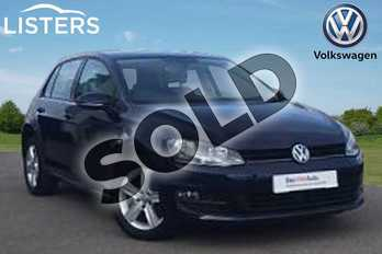 Volkswagen Golf 1.4 TSI Match 5dr in Night Blue at Listers Volkswagen Loughborough