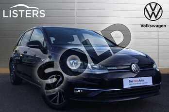 Volkswagen Golf 1.5 TSI EVO Match 5dr in Deep black at Listers Volkswagen Loughborough