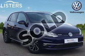 Volkswagen Golf 1.5 TSI EVO Match 5dr in Atlantic Blue at Listers Volkswagen Loughborough