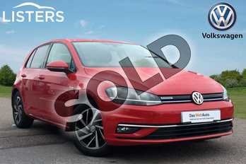 Volkswagen Golf 1.5 TSI EVO Match 5dr in Tornado Red at Listers Volkswagen Loughborough