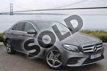 Mercedes-Benz E Class Diesel E300de AMG Line Premium 4dr 9G-Tronic in selenite grey metallic at Mercedes-Benz of Hull