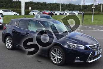 Lexus CT 200h 1.8 5dr CVT in Deep Blue at Lexus Lincoln