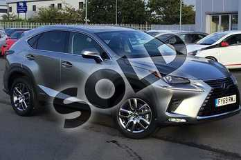 Lexus NX 300h 2.5 5dr CVT in Sonic Titanium at Lexus Lincoln