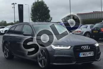 Audi A6 Special Editions 3.0 TDI (272) Quattro Black Edition 5dr S Tronic in Daytona Grey at Lexus Lincoln