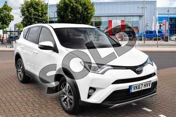 Toyota RAV4 Diesel 2.0 D-4D Business Edition TSS 5dr 2WD in White at Listers Toyota Cheltenham