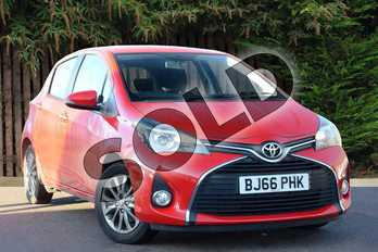 Toyota Yaris 1.33 VVT-i Icon 5dr in Red Pop at Listers Toyota Coventry