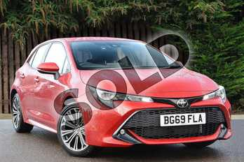 Toyota Corolla 1.2T VVT-i Design 5dr in Scarlet Flare at Listers Toyota Coventry