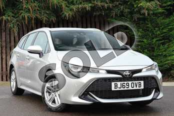 Toyota Corolla 1.2T VVT-i Icon Tech 5dr in Sterling Silver at Listers Toyota Coventry